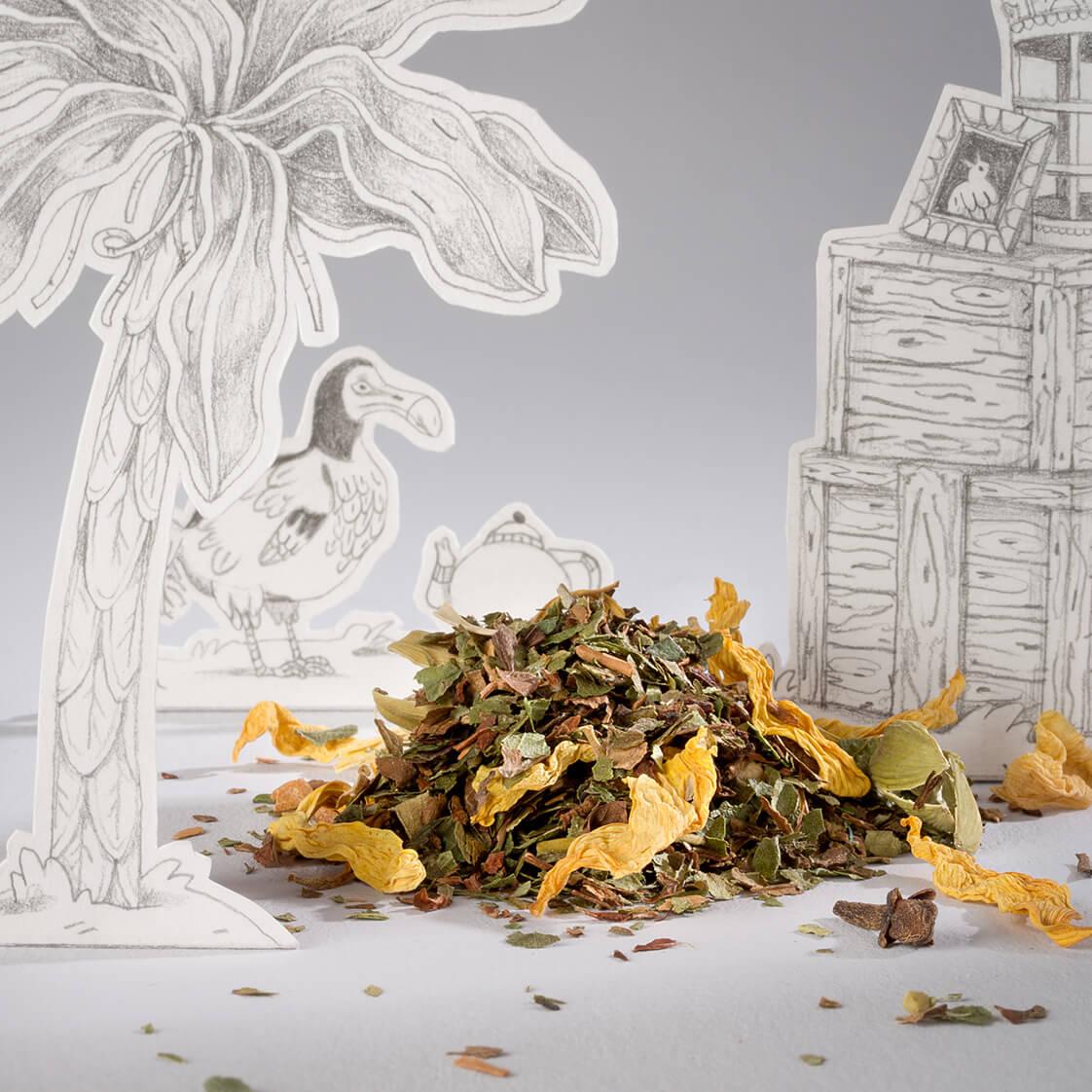 Tisane Le phoenix, une infusion de plantes médicinales pour être toujours tout feu tout flamme de Comme des tisanes