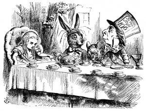 Le goûter fou d'Alice au pays des merveilles