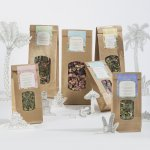 Les infusions créatives Comme des tisanes sont disponibles en éco-recharges petits et grands modèles.