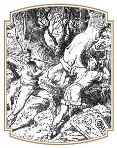 La Mort de Siegfried de Johannes Gehrts