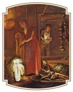 Philémon et Baucis d'Adam Elsheimer