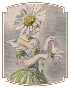 Marguerite, fleur animée de Jean-Jacques